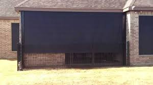 Wind Screens For Patios by Southern Patio Enclosures Remote Controlled High Wind Sun Shade