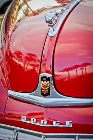1948 dodge ram ornament photograph by reger