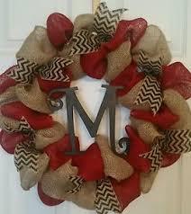burlap christmas wreath burlap wreath ebay