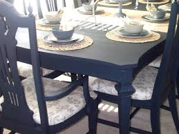 refinish dining room table spray painting dining room table and chairs 7 image
