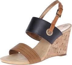 ak anne klein women u0027s taye synthetic wedge sandal for more