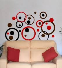Wall Decals For Living Room Circles Wall Decals For Living Room Decorative Wall Decals For