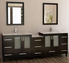 88inc double sink bathroom vanities cabinet set from espresso