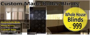Dual Day And Night Roller Blinds Custom Made Roller Blinds
