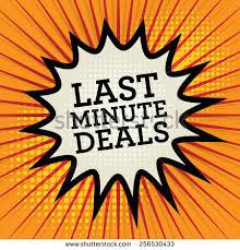 comic explosion text last minute deals stock vector 256530433