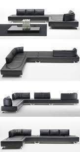 contemporary sofa from de sede new ds 165 leather sofa