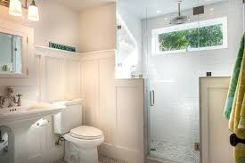 Green Board In Bathroom Bathroom With Barn Board Ceiling Country Bathroom John Hummel