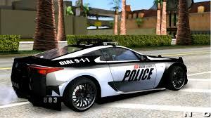 lexus lx police car gta san andreas 2011 lexus lfa police mods modification youtube