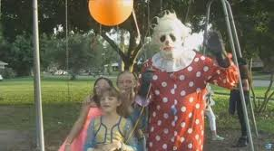 birthday party clowns for hire are hiring this creepy clown to scare misbehaving children