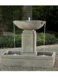Garden Fountains And Outdoor Decor Outdoor Decor Garden Fountains U2013 Home Design And Decorating