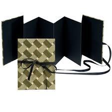 Accordion Photo Album Buy Lineco Accordion Album Kit Green U0026 Black
