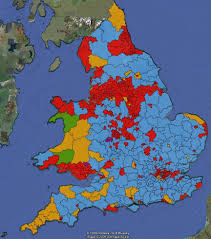 Map Of Wales New Electoral Map Of Wales