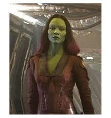 Gamora Costume Of The Galaxy Gamora Zoe Saldana Red Jacket