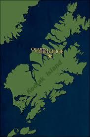 Kodiak Alaska Map by Quartz Creek Lodge Remote Wilderness Vacation Kodiak Island