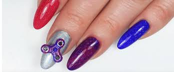fidget spinner nails bring the fun to your fingertips more com