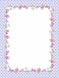 baby clipart frame clipart collection pink digital paper frame
