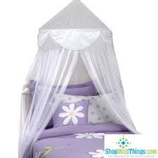 Purple Bed Canopy White Princess Mosquito Net Bed Canopy