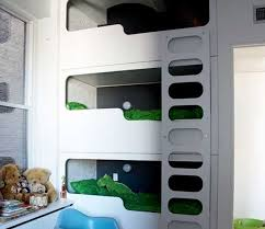Designer Bunk Beds Melbourne by Clever Ways To Fit Three Kids In One Bedroom