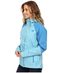 the north face venture hybrid jacket in blue lyst