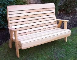 Red Cedar Outdoor Furniture by Red Cedar Royal Highback Garden Bench