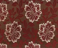 maroon floral ja fabric by the yard curtain fabric upholstery
