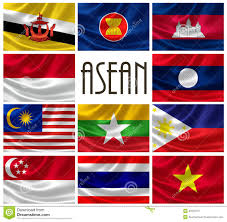 Flag Of Burma Flags Of Asean Nations Stock Illustration Illustration Of