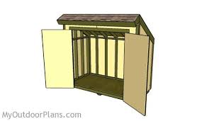 How To Build A Small Lean To Storage Shed by Lean To Shed How To Build A Lean To Shed Small Lean To 8x12