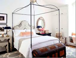 Iron Canopy Bed Houston Design Material Houston Interior Design