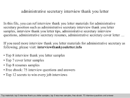 Administrative Secretary Resume Sample by Administrative Secretary