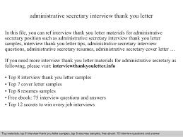 Administrative Secretary Resume Sample Administrative Secretary