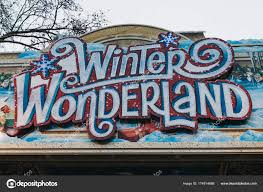 sign at the entrance to winter uk stock
