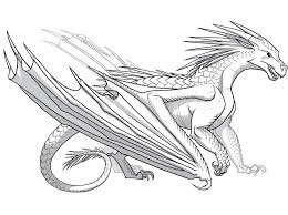 wings of fire sandwing dragon coloring page new of coloring pages