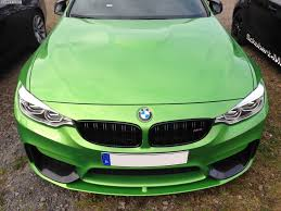 company car bmw bmw m4 in java green marco wittmann shows company car