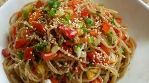 noodle salad recipes sesame noodle salad recipe allrecipes com