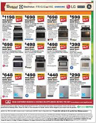 home depot gas range black friday sale home depot black friday appliance ad