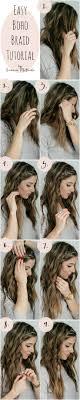easiest type of diy hair braiding 10 cute and simple hair style ideas for graduation braid