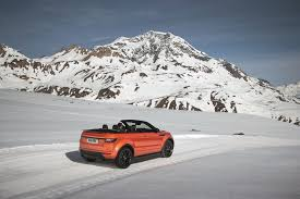 land rover snow range rover unveils world u0027s first suv convertible with new 50k