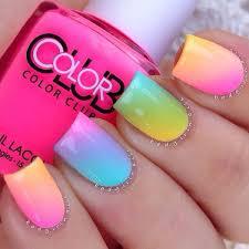 best 20 rainbow nails ideas on pinterest rainbow nail art