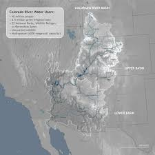 Map Of The Colorado River by Colorado River Basin U S Climate Resilience Toolkit