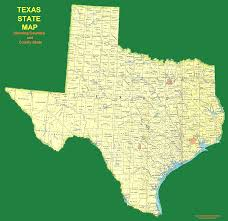 Tx Counties Map Map Texas County Seat Map