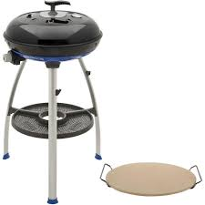 Brinkmann Portable Gas Grill by Cadac Carri Chef 2 Portable Propane Gas Grill In Black With Pot