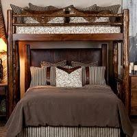 Custom Perpendicular Queen Bunk Bed Queen Bunk Beds Pinterest - Queen bed with bunk over