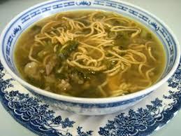 cuisine asiatique boeuf soupe de boeuf et nouilles façon chinoise recette entrées