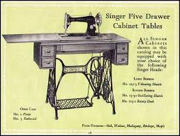 Antique Singer Sewing Machine And Cabinet Cabinets And Treadle Bases For Vintage Singer Sewing Machines