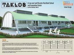 evacuation center floor plan taklob a low cost and disaster resilient school design on behance