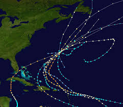 United States Storm Map by List Of Bermuda Hurricanes Wikipedia