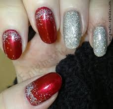 enigmatic rambles nails red holo gradient