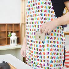 Screen Printed Aprons Custom Printed Cotton Kitchen Apron Canvas Fabric Uniform No Sleeve