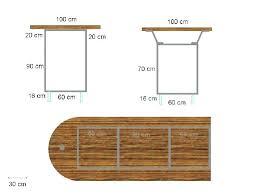 hauteur table haute cuisine hauteur table de cuisine hauteur bar cuisine plan pour fabriquer un