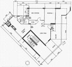 Hdb Flat Floor Plan Serangoon Avenue 4 Hdb Details Srx Property